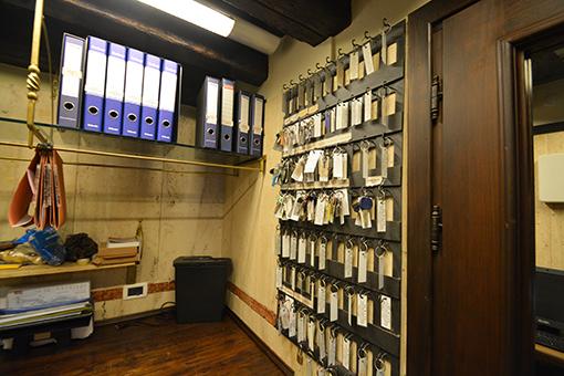 Rastrelliere per deposito chiavi a Venezia San Marco