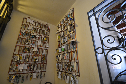 Attenzione: massimo 4 mazzi di chiavi per ogni appartamento